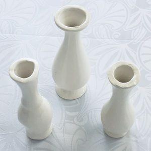 Vtg 80's vases